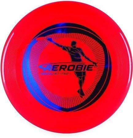 FRISBEE  Aerobie Medalist Red