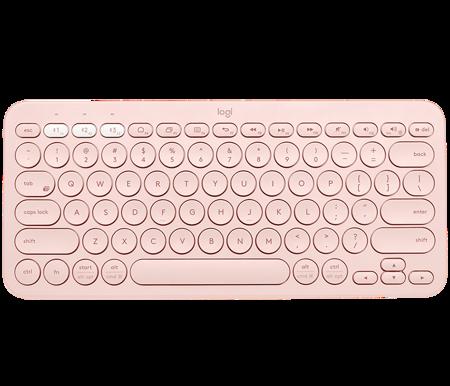 Logitech K380 Bluetooth pink