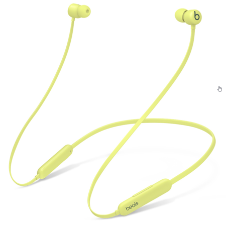 headphones in-ear Beats Flex Smoke Yellow Yuzu