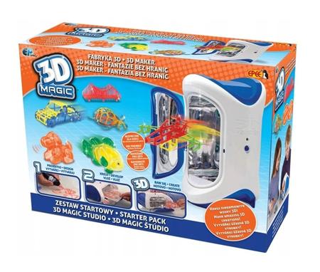 3D Magic Maker Zestaw startowy z urządzeniem 3D