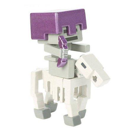 Minecraft mini figurka Szkielet na koniu