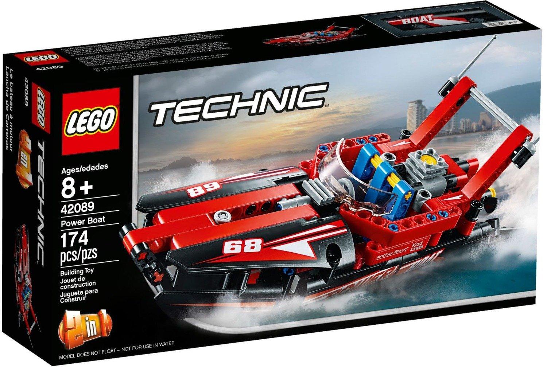 Klocki Lego Technic Motorówka 42089 Zabawki Klocki Lego I