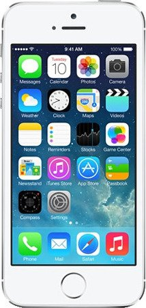 Apple iPhone 5S 16GB srebrny