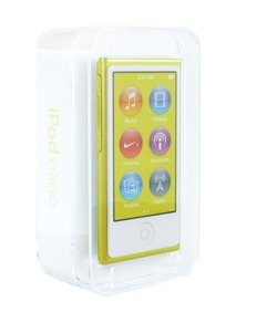 Apple iPod nano 16GB MD476 żółty