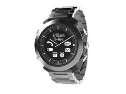 Cogito Classic Metal - analogowy zegarek z cyfrowym wyświetlaczem dla urządzeń z iOS i Andorid (srebrny)