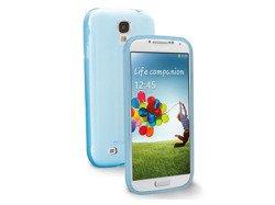 Etui Shocking Grip Galaxy S4 - Niebieskie Silikonowe