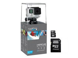 Kamera GoPro Hero 4 Silver Edition Adventure + 128GB