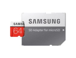 Karta pamięci Samsung EVO Plus microSDHC 100 MB/s (złącze SD) 64 GB