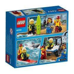 Klocki LEGO CITY Straż przybrzeżna - zestaw startowy - 60163