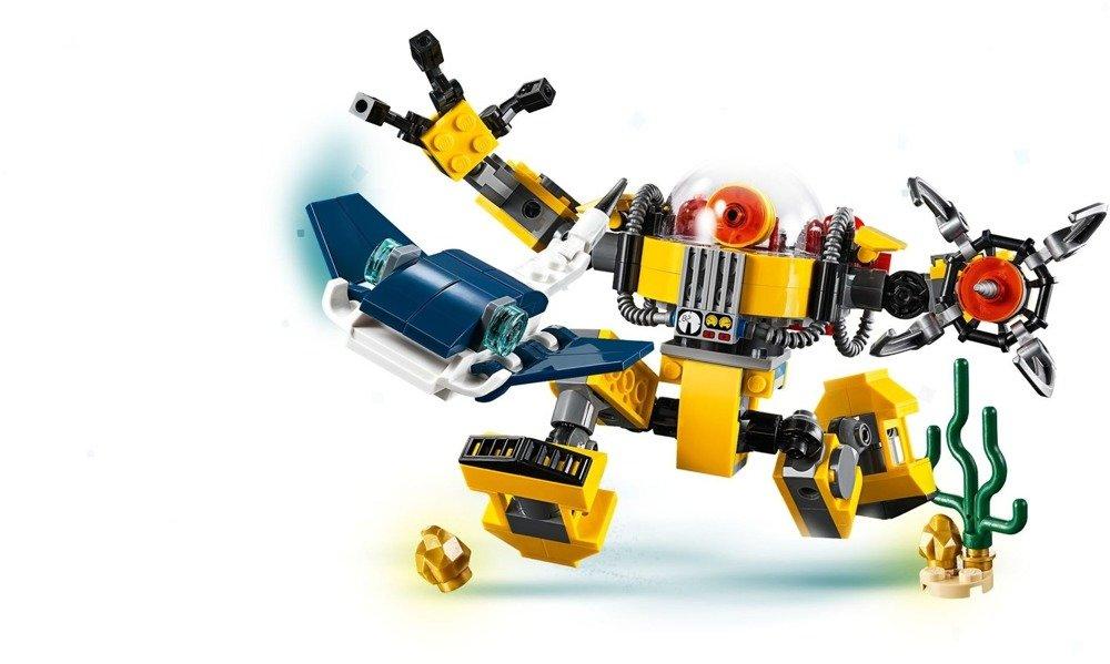 Klocki LEGO CREATOR - Podwodny robot 3w1 - 31090