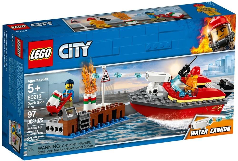 Klocki LEGO City - Pożar w dokach - 60213