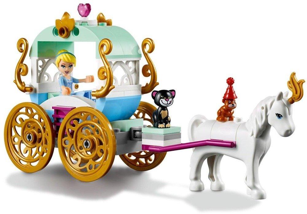 Klocki LEGO DISNEY - Princess Przejażdżka karetą Kopciuszka - 41159