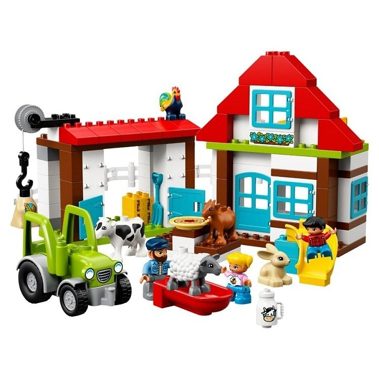 Klocki LEGO DUPLO - Przygody na farmie - 10869