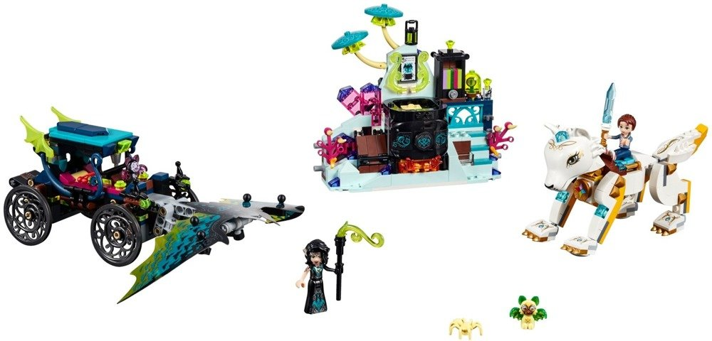 Klocki LEGO ELVES -  Pojedynek Emily i Noctury - 41195