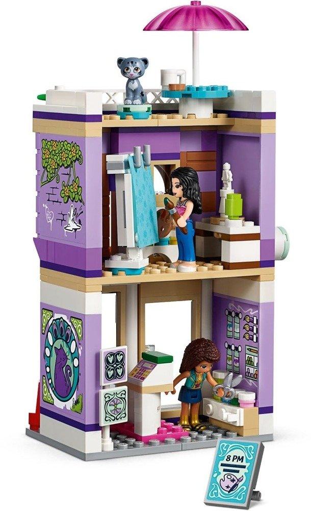 Klocki LEGO Friends Atelier Emmy - 41365