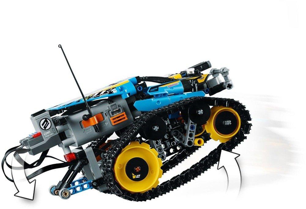 Klocki LEGO Technics wyścigówka kaskaderska R/C - 42095