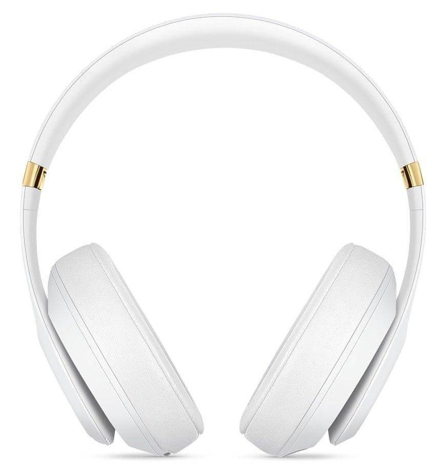 Słuchawki nauszne Beats Studio3 Wireless Over-Ear Headphones - White - Biały